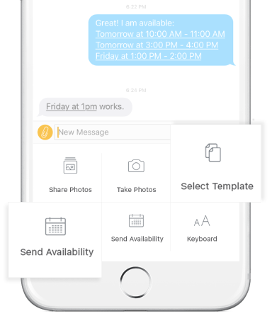 Productivity and CRM features for business text messaging