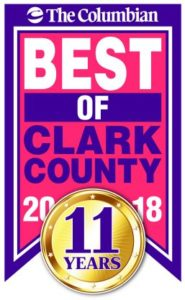The Columbian Best of Clark County 2018 badge