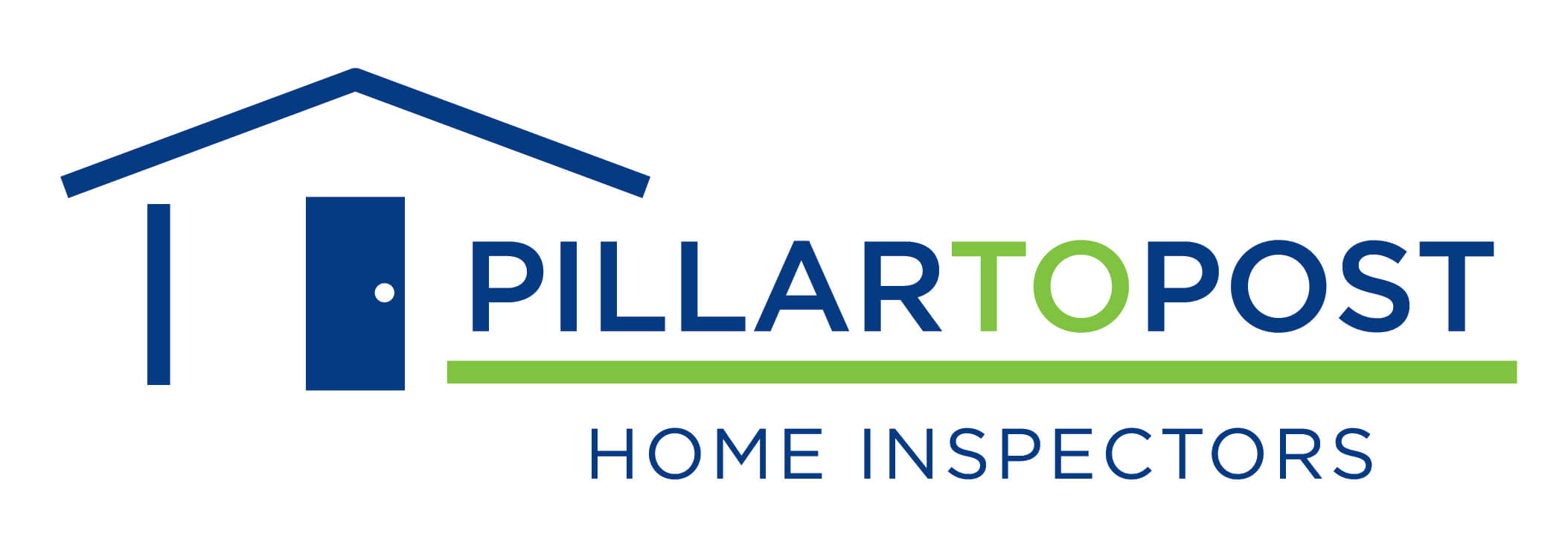 Pillar To Post Logo with house