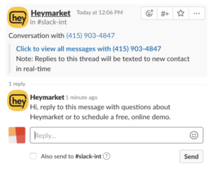 Customer Support with Slack