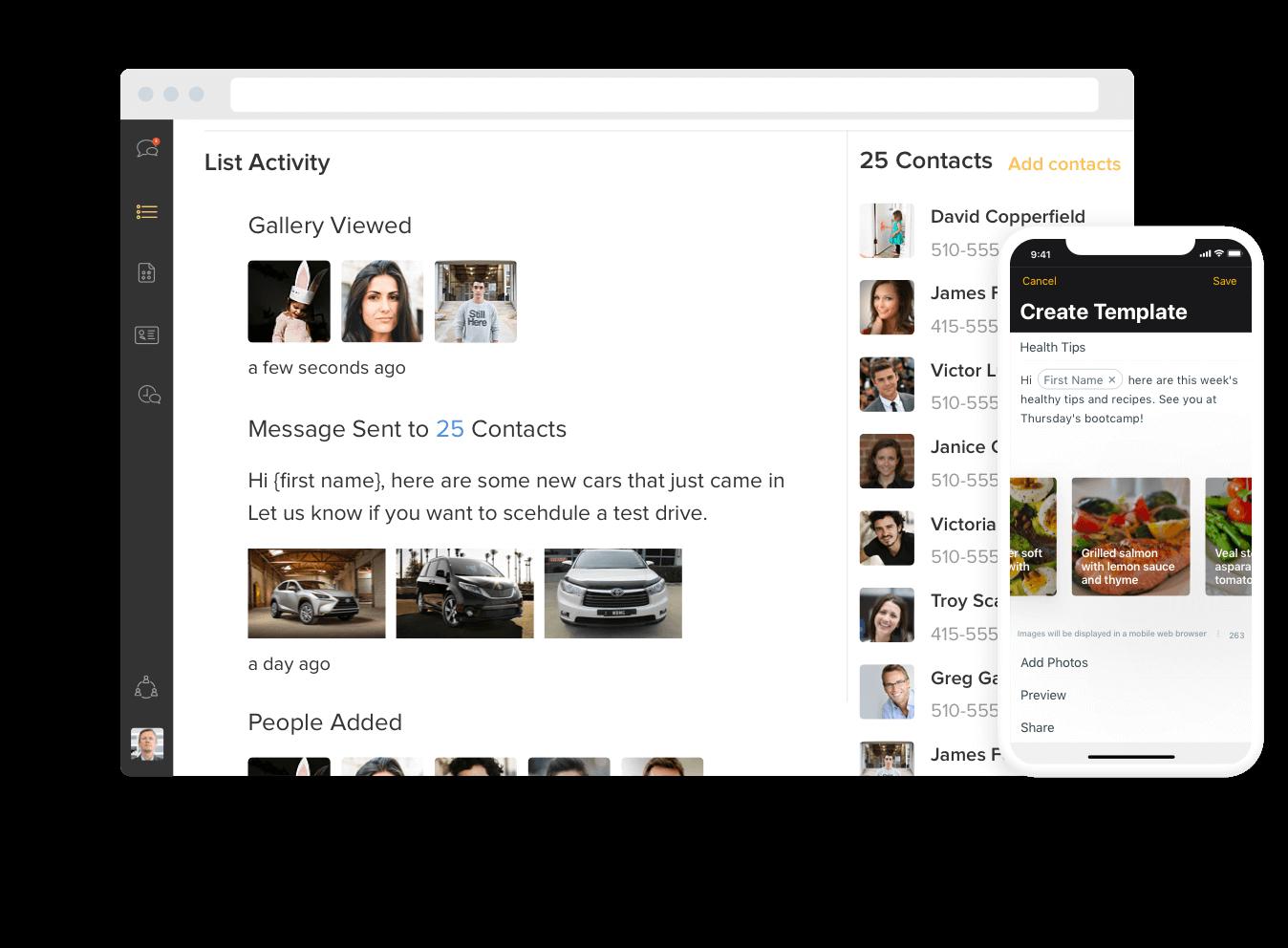 Business Text Messaging - Heymarket