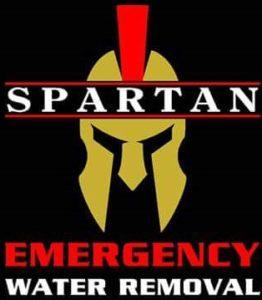 Spartan Water Removal logo.