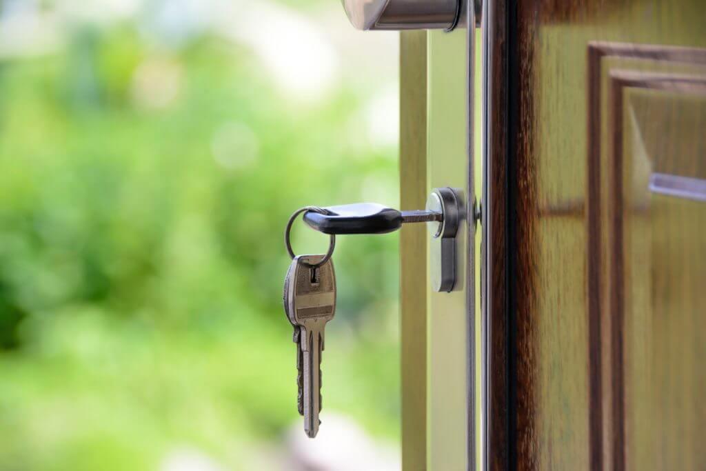 Property management key door