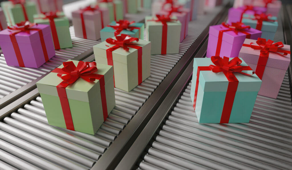 Holiday sms gift delivery
