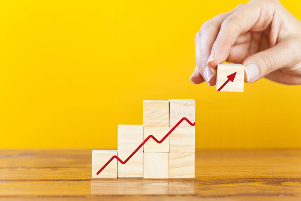 Mid market business chart