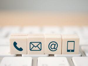 An SMS contact center